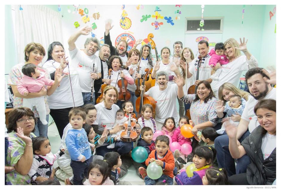 Servicio Nacional de Menores (Sename), Temuco, Chile. Gira Internacional.