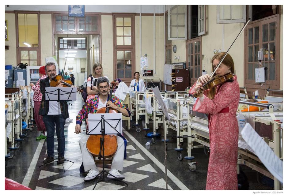 """Hospital """"Arzobispo Loayza"""", Lima, Perú. Gira Internacional."""