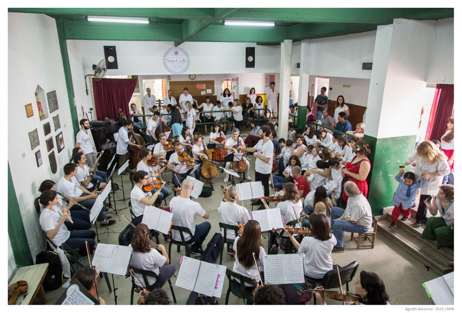 Escuela de Educación Especial Nº 33, Santa Cecilia, para niños ciegos, Ciudad de Buenos Aires. Tercera visita.