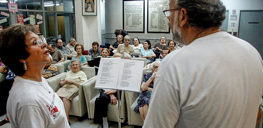 """Geriátrico Hogar """"Beit Sion"""", Floresta, Ciudad de Buenos Aires."""