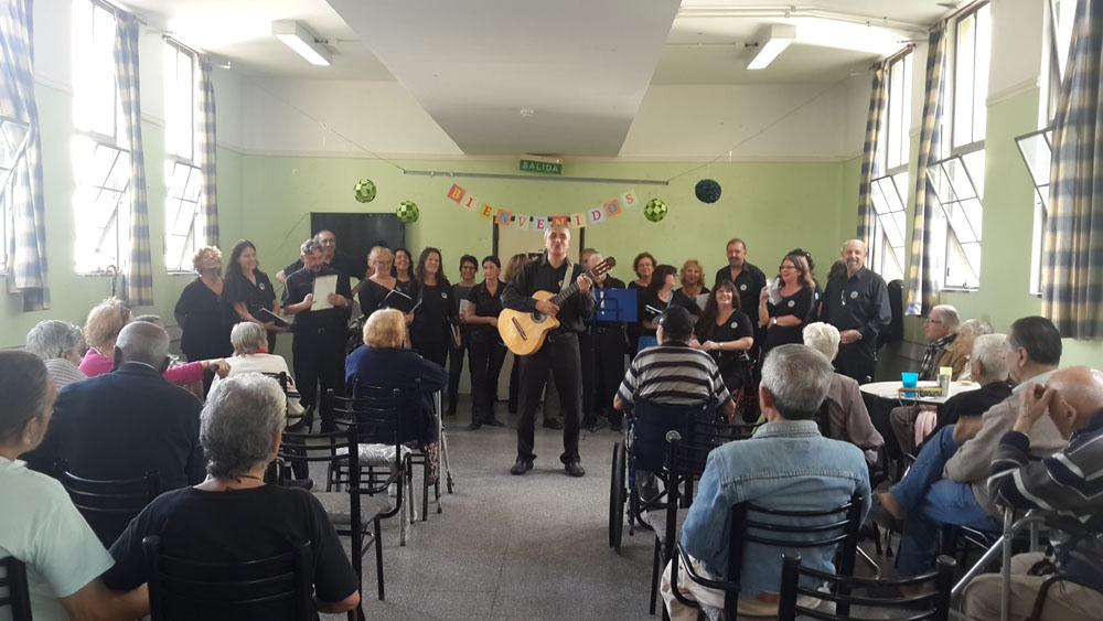 Hogar de Adultos mayores Rawson, Ciudad de Buenos Aires.
