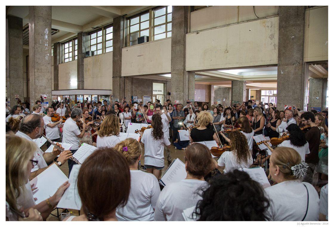 Hospital Nacional de Clinicas José de San Martín, Ciudad de Buenos Aires. Primera visita.