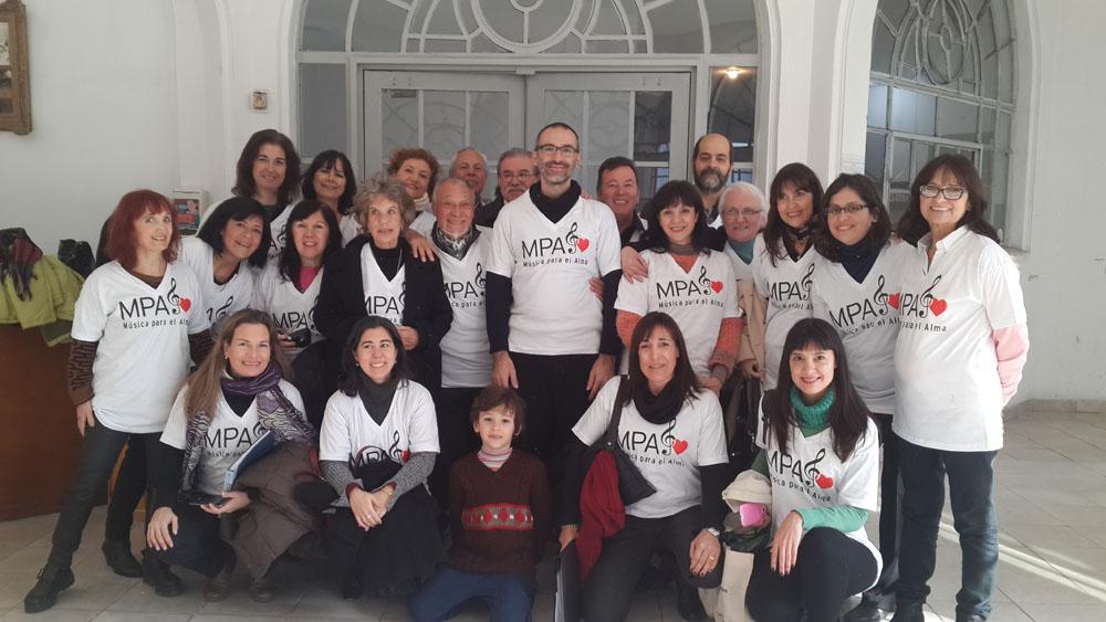 Hogar de Adultos mayores, San Martin, Ciudad de Buenos Aires. Tercera visita.