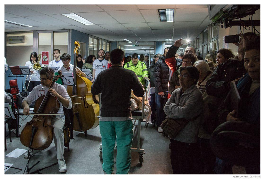 """El Hospital General de Agudos """"Dr. Ignacio Pirovano"""", Ciudad de Buenos Aires."""