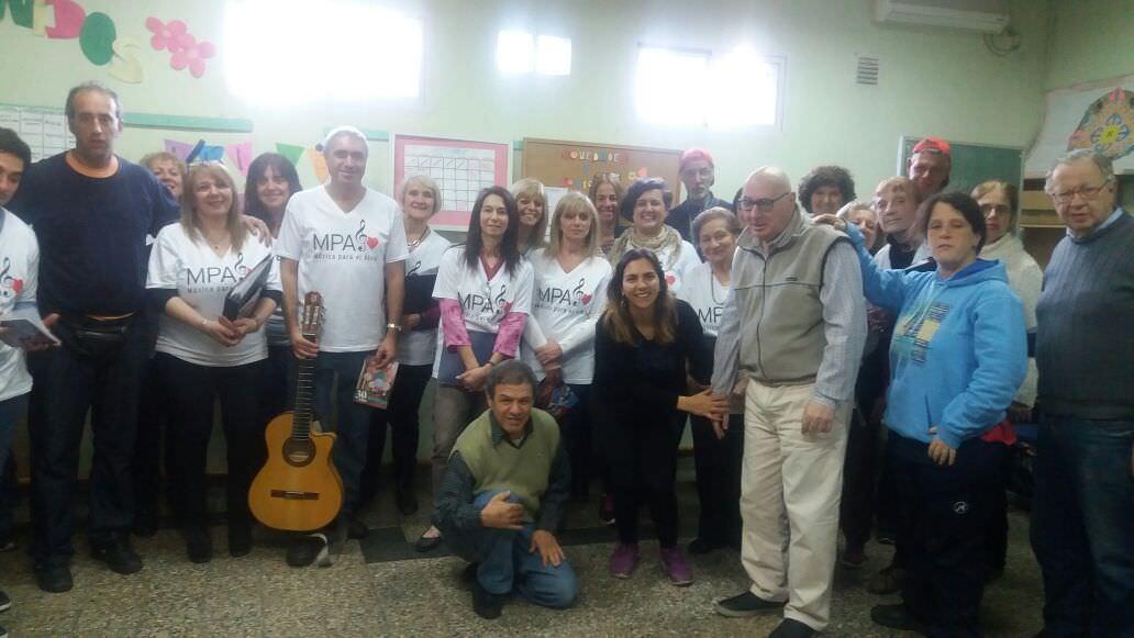Grupo Ory. Centro de contención de adultos con capacidades mentales diferentes, Ciudad de Buenos Aires.