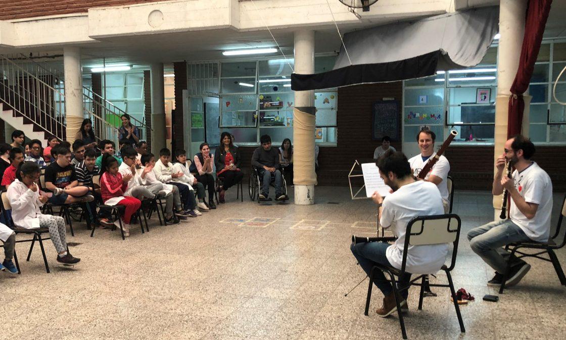 Escuela Rafael Luis Arcone – Escuela de educación especial, Ciudad de Buenos Aires.