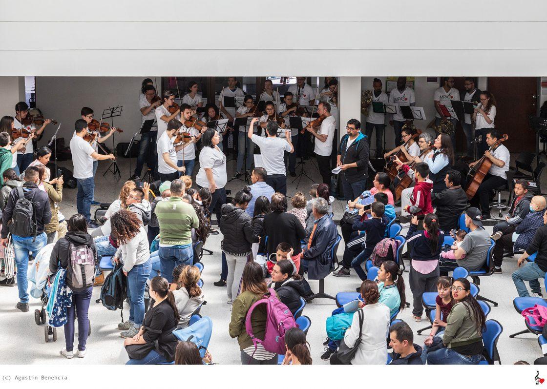 HOMI Fundación Hospital Pediátrico la Misericordia, Bogotá, Colombia. Gira Internacional.