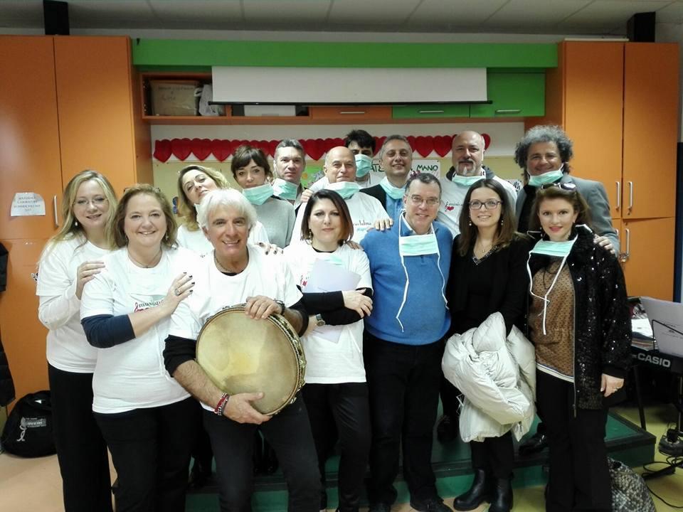 Ospedale Pausilipon Oncología pediátrica, Napoles, Italia. Décimo concierto.