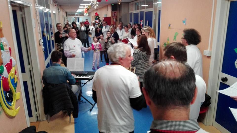 Hospital Pediatrico Santo Bono, Napoles, Italia. Octavo concierto.
