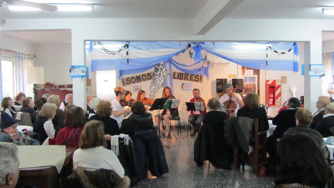 Hogar de adultos mayores, Balestra Espíndola, Ciudad de Buenos Aires.