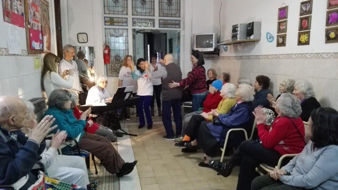 Residencia geriátrica Santa Patricia. San Cristobal, Ciudad de Buenos Aires.