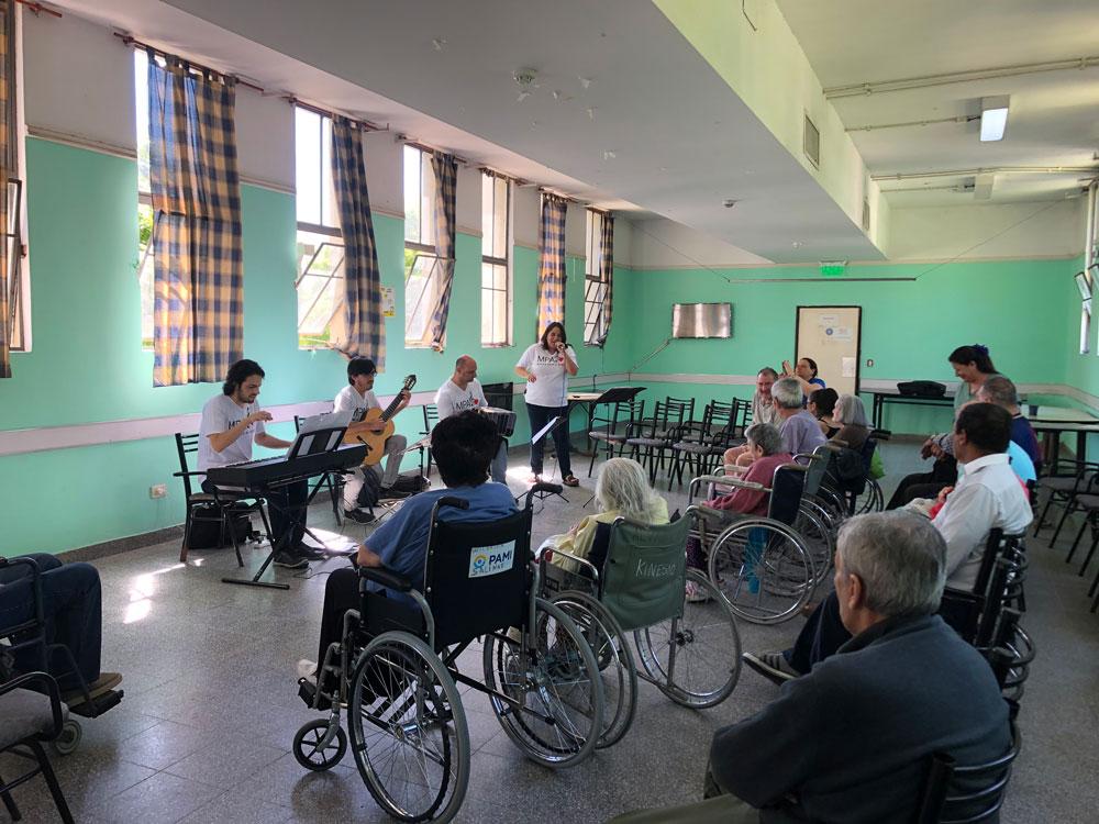 Hogar de Adultos mayores Rawson, Ciudad de Buenos Aires. Quinta visita.